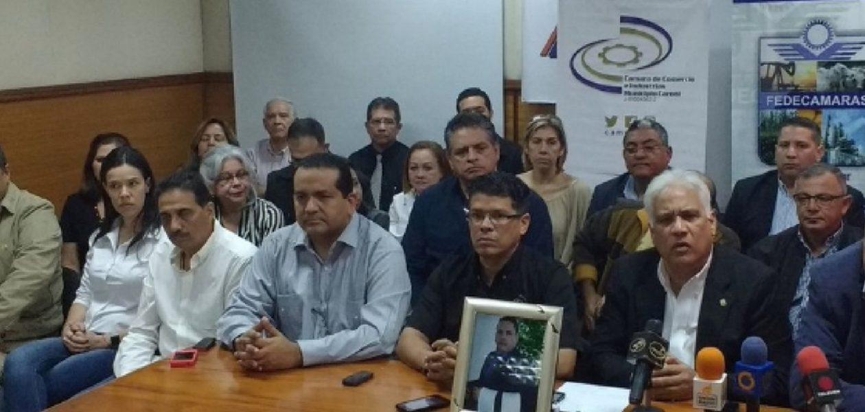 Asesinato de Luis Moreno genera repudio en gremio empresarial