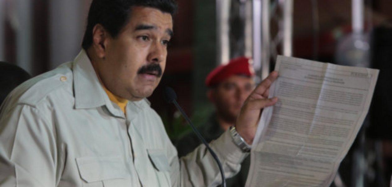 «Maduro debe negociar con la Asamblea Nacional»