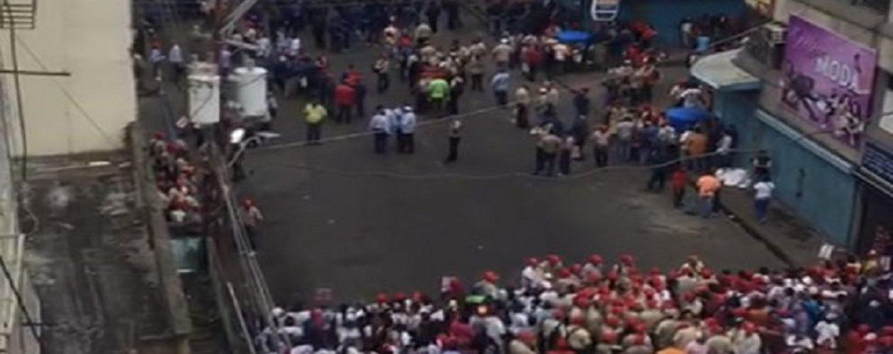 Lo que pasó en la visita de Maduro en San Félix