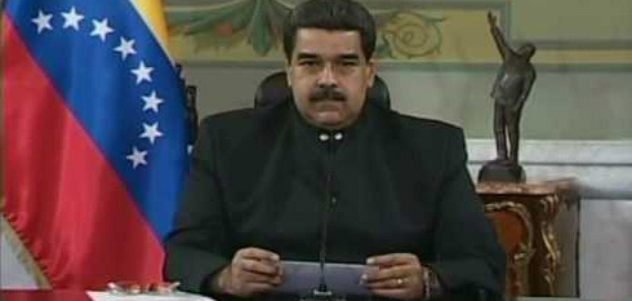 Maduro llama a elecciones regionales y de alcaldías