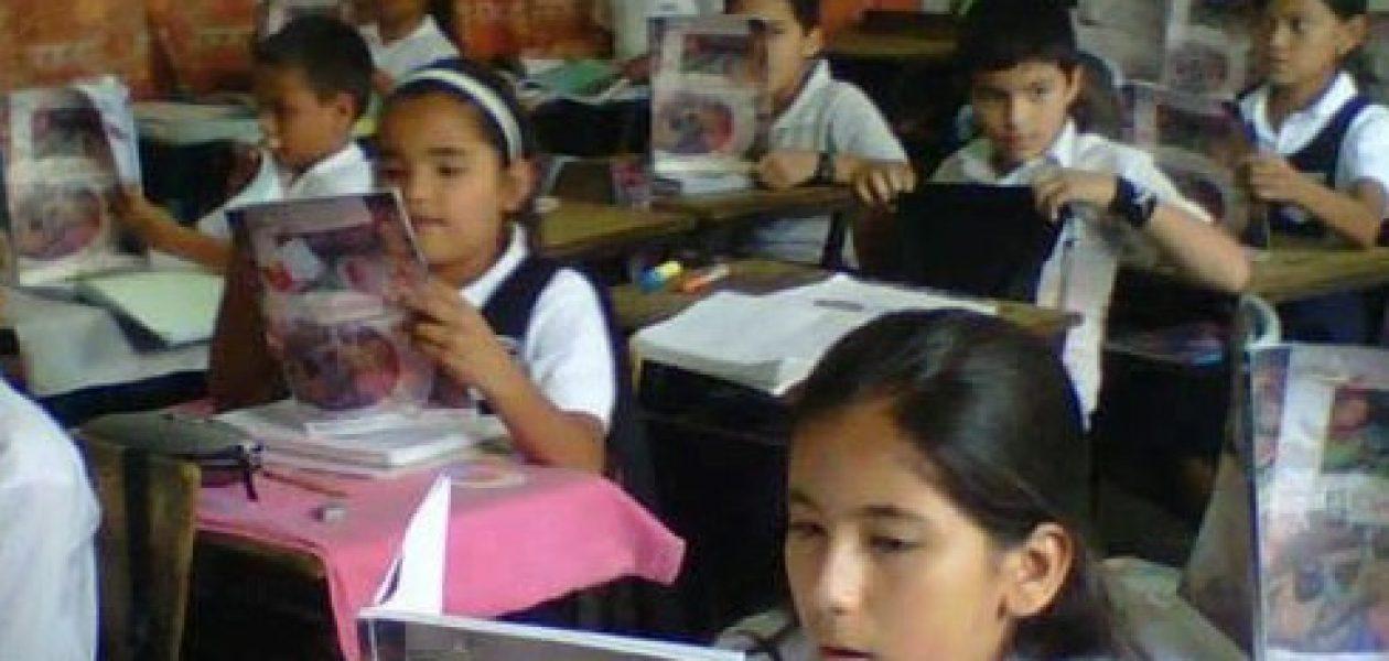 Escuela Manuelita Sáenz está a punto de caerse