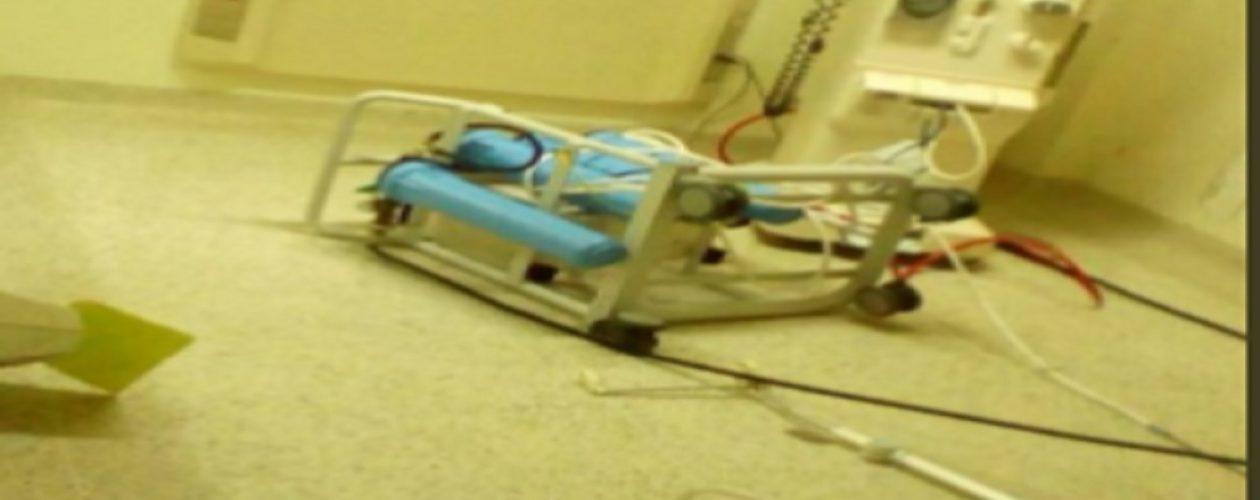 La única máquina de hemodiálisis del  Hospital JM de los Ríos fue destruida