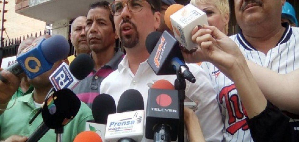 "MUD convoca marcha ""Doblete contra la Dictadura"""