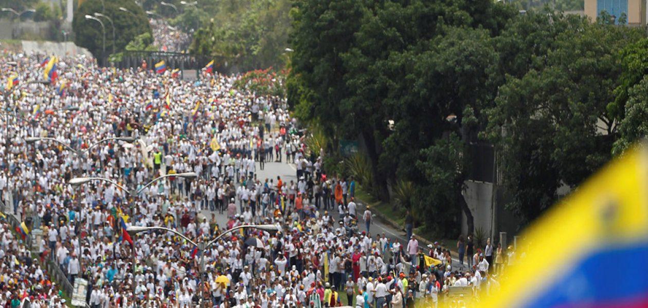 """MUD realiza marcha """"Conciencia Metro a Metro"""" este jueves"""