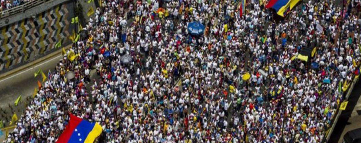 """MUD convoca marcha """"Todos a Caracas"""""""
