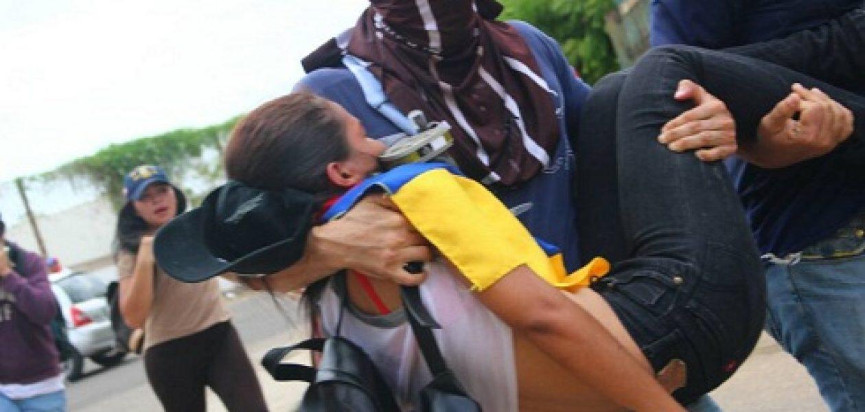 Marcha contra la represión en Maracaibo fue atacada por la GNB