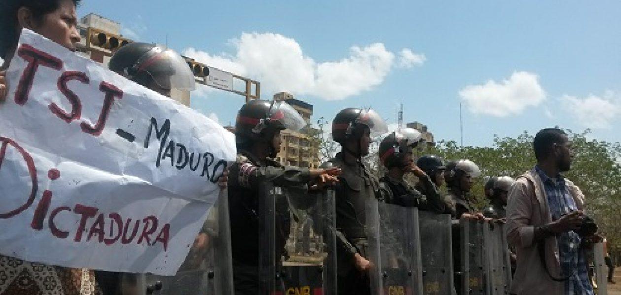 Marcha de hoy en Guayana reclama elecciones y democracia