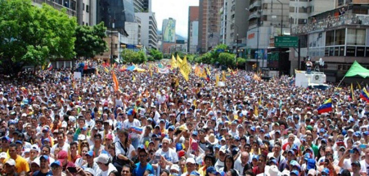 «Marcha del 4 de abril debe ser para salir de Maduro»