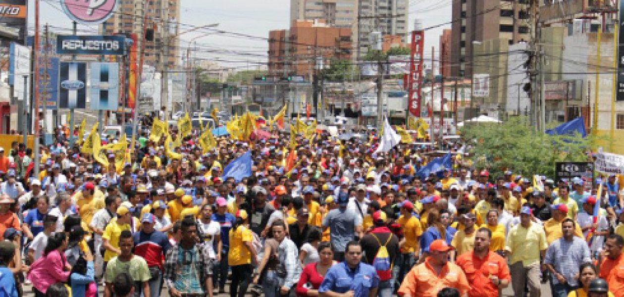 El Zulia se alista para la marcha del 7 de septiembre hasta el CNE