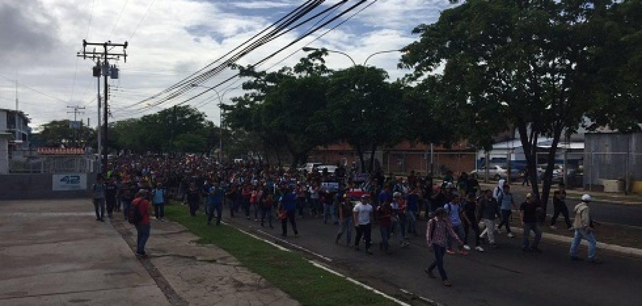 Convocan a marcha a la UDO Bolívar en rechazo a la represión