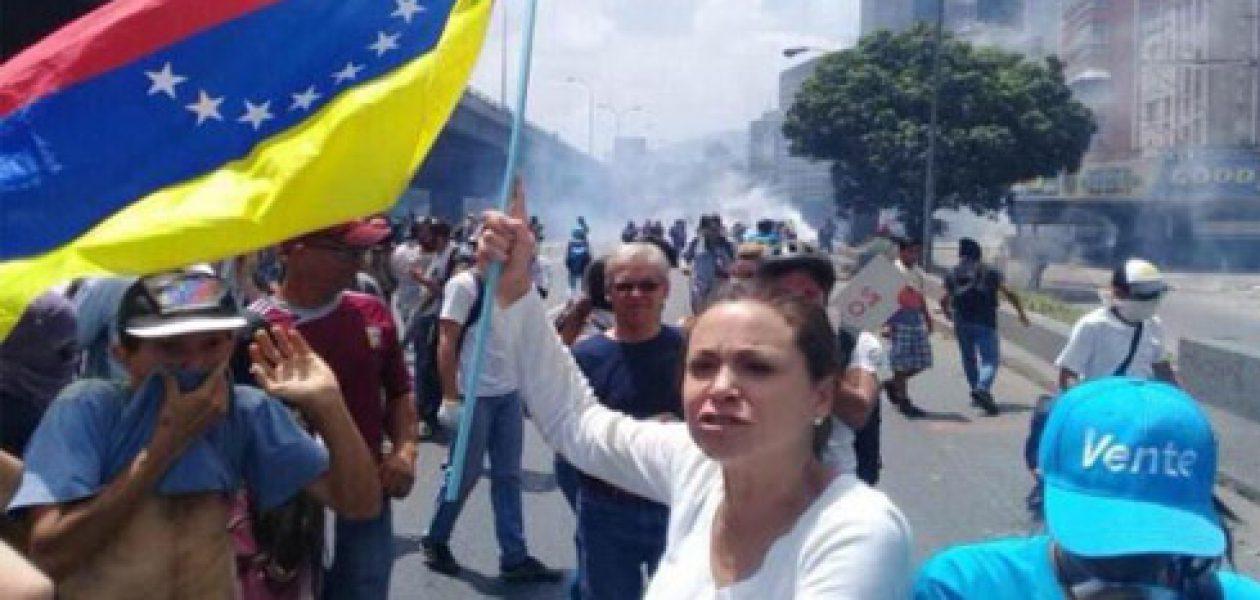 María Corina Machado informa sobre una orden de aprehensión en su contra