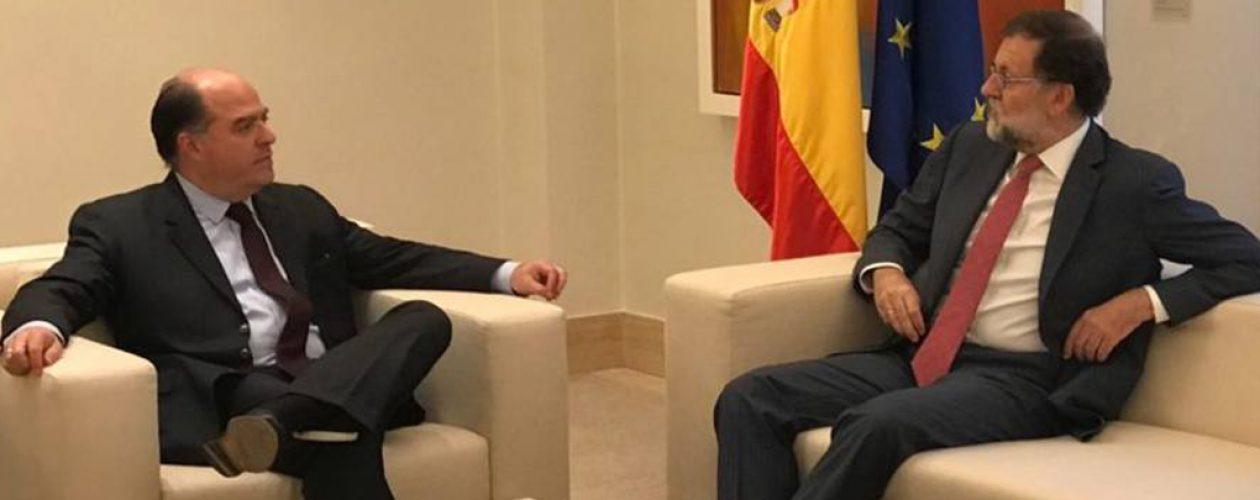 Mariano Rajoy promoverá que Unión Europea sancione al Gobierno venezolano