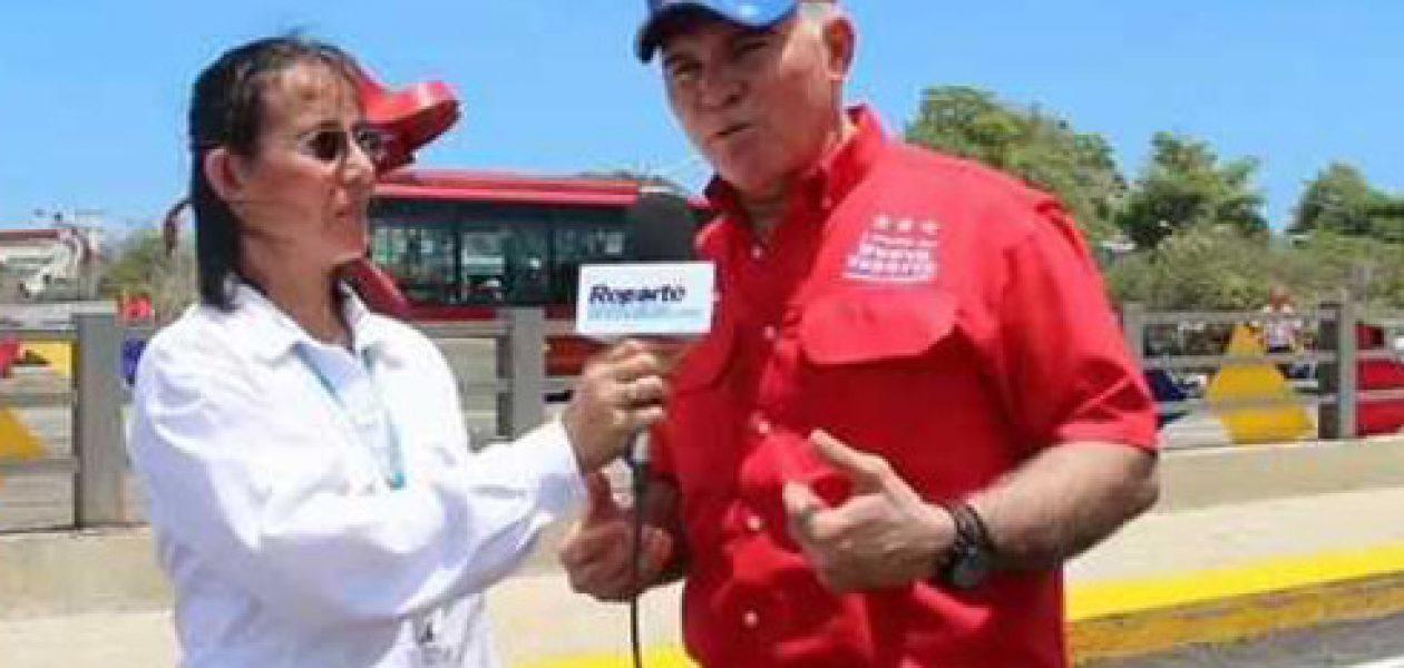 Gobernador Mata Figueroa amenaza con otra lista Tascón (Audio)