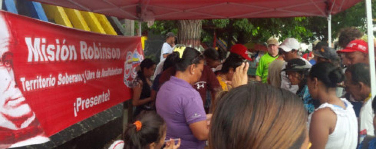 Protestan por desvío de Mercal para consejo comunal de San Félix