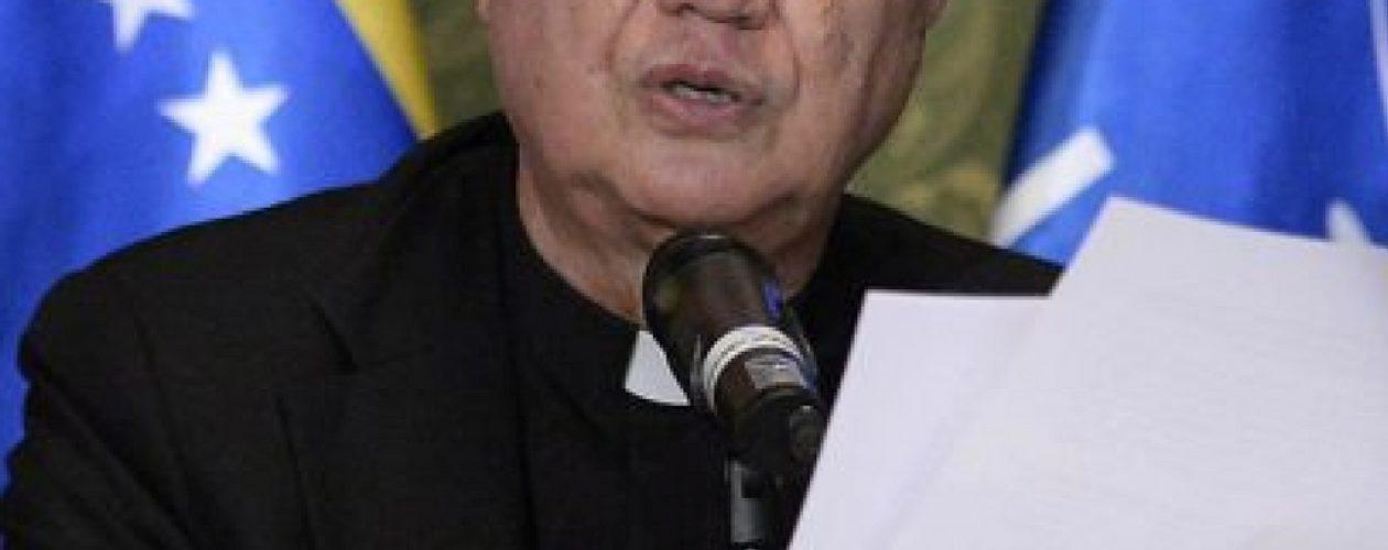 Vaticano espera que la mesa de diálogo en Venezuela sea una realidad