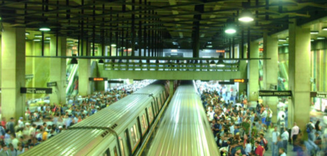 Caos e inseguridad desmejoran servicio en el Metro de Caracas