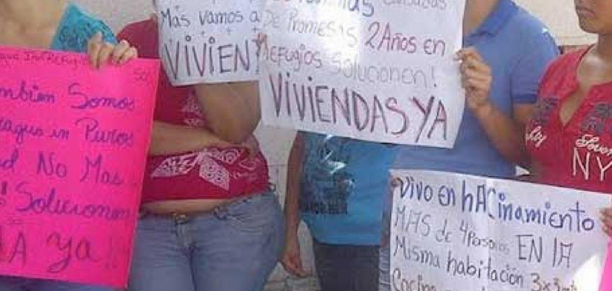 Misión Vivienda o 'Misión Imposible' para refugiados en Aragua