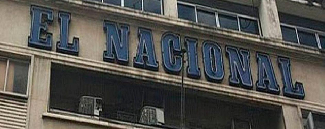 Grupo de colectivos intentó invadir sede de El Nacional en El Silencio