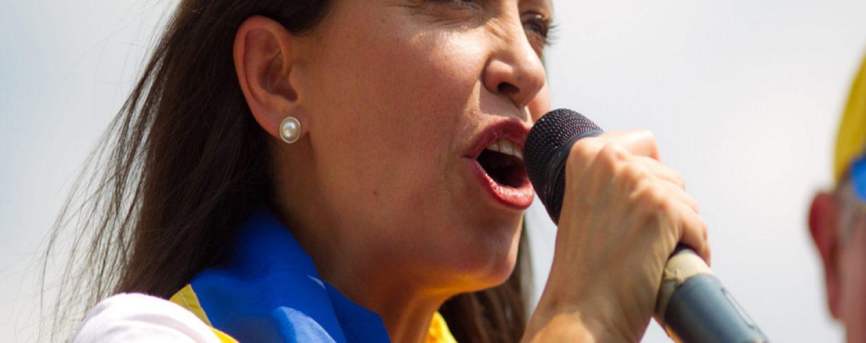 María Corina Machado no descarta negociación política en Venezuela