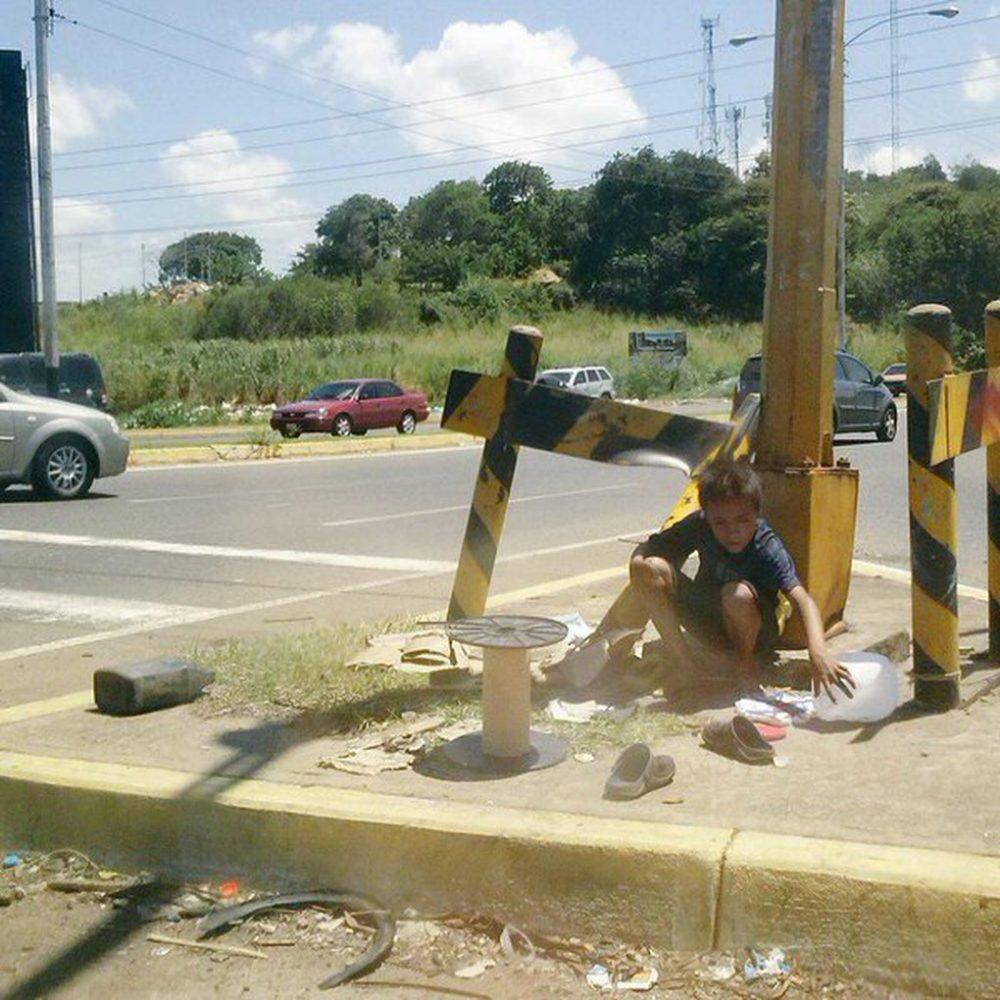 Situación de niños en la calle aumenta con crisis en Venezuela