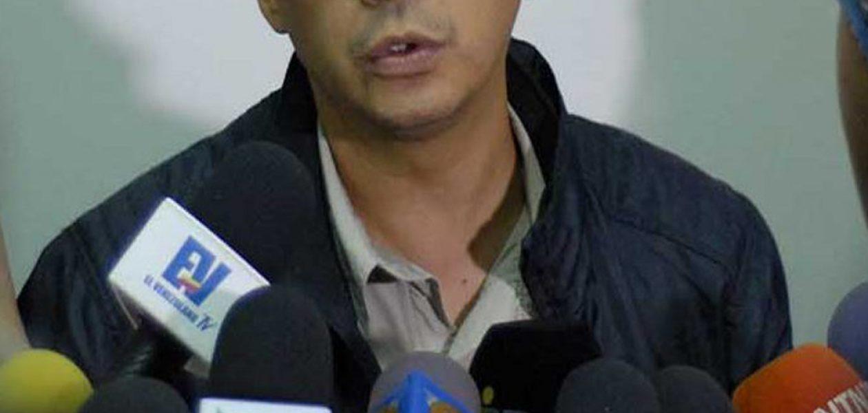Nicmer Evans se postula como candidato a la Alcaldía del municipio Libertador