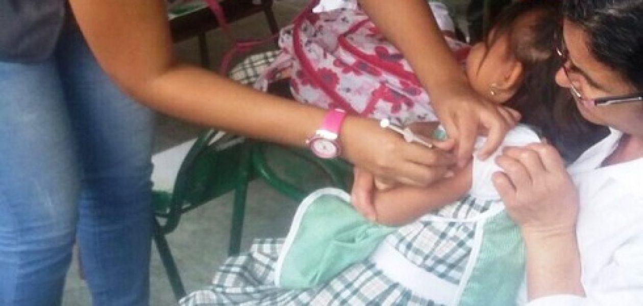 Al menos cinco niños han muerto por casos de difteria en Bolívar