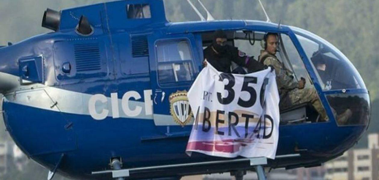 Nuevo mensaje de Oscar Pérez dirigido a los colectivos chavistas
