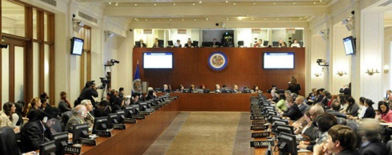 Sesión de la OEA en vivo sobre situación de Venezuela