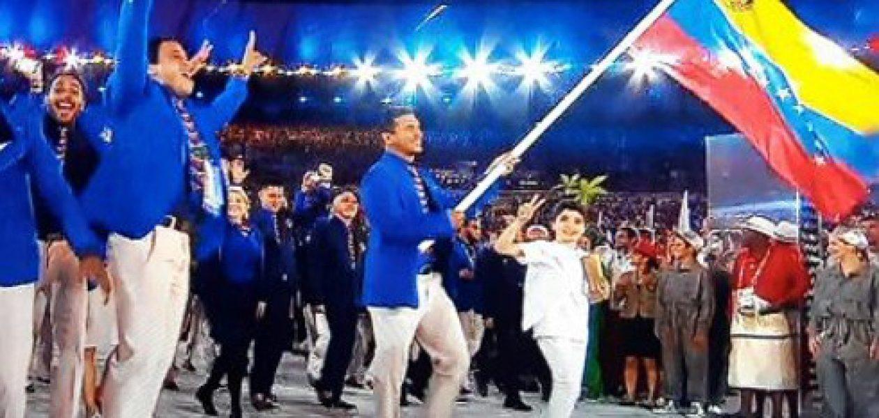 Así brilló Venezuela en la inauguración de las Olimpiadas Rio 2016