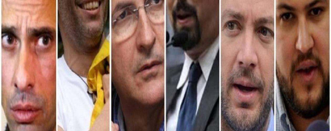 Estos son los líderes de la oposición que no podrán ser candidatos  en las elecciones