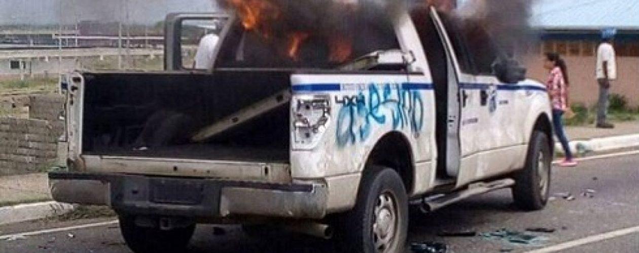 Joven fue arrollada por camioneta del IVSS cuando protestaba en Calabozo