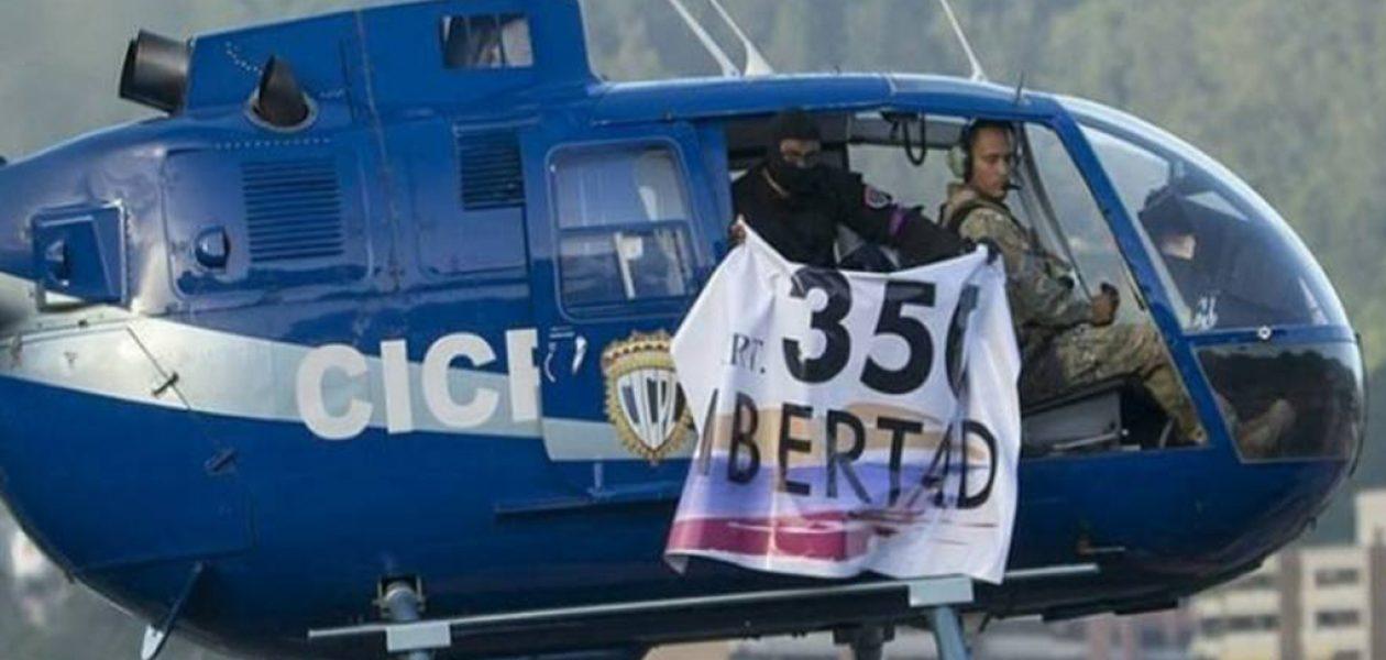 Helicóptero del Cicpc sobrevoló sede del TSJ