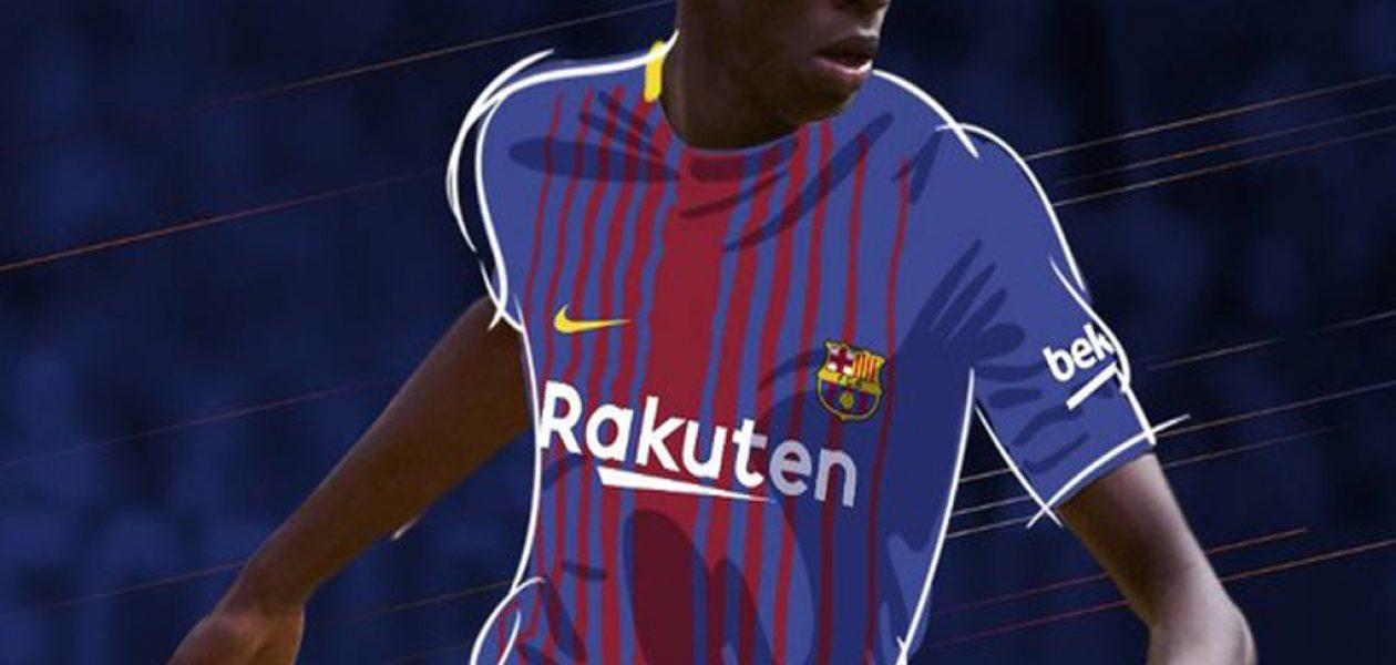 Ousmane Dembélé, nuevo jugador del FC Barcelona