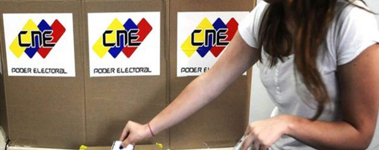 CNE comenzó a distribuir el material electoral de las regionales