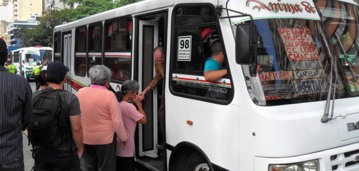 Chavistas amplían tentáculos y lanzan operativo para regular el cobro del pasaje en Caracas