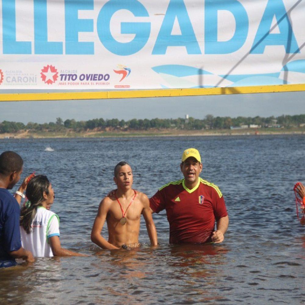 Juan Carlos Morlés: ganador de XXVIII edición del Paso a Nado de ríos Orinoco y Caroní