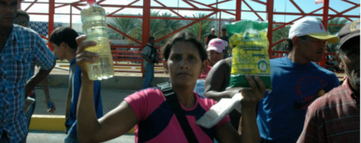 Protesta en Pdval de Guayana por falta de comida