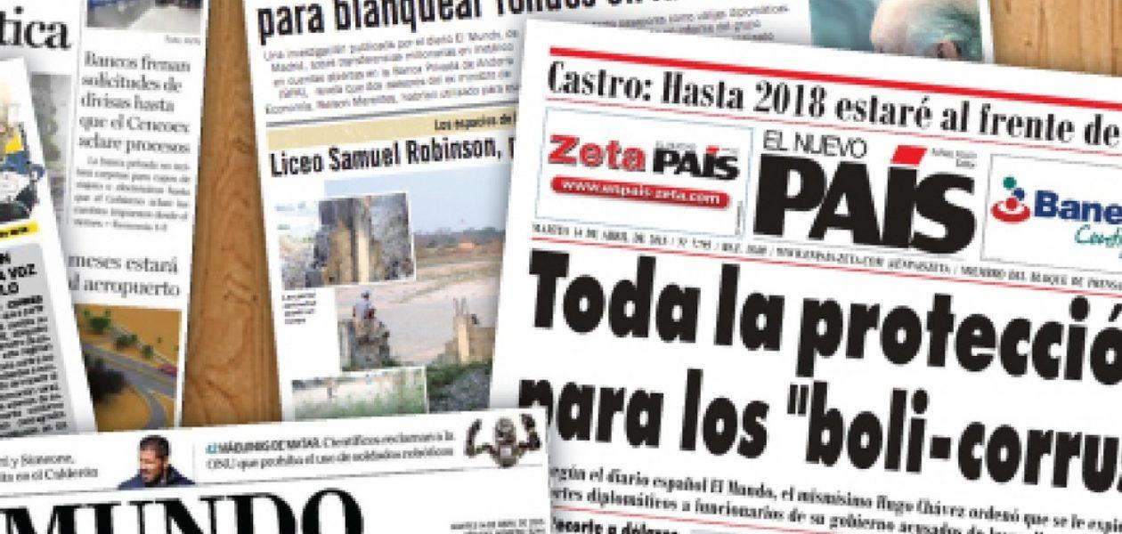 Cierran por crisis periódicos diarios de Venezuela