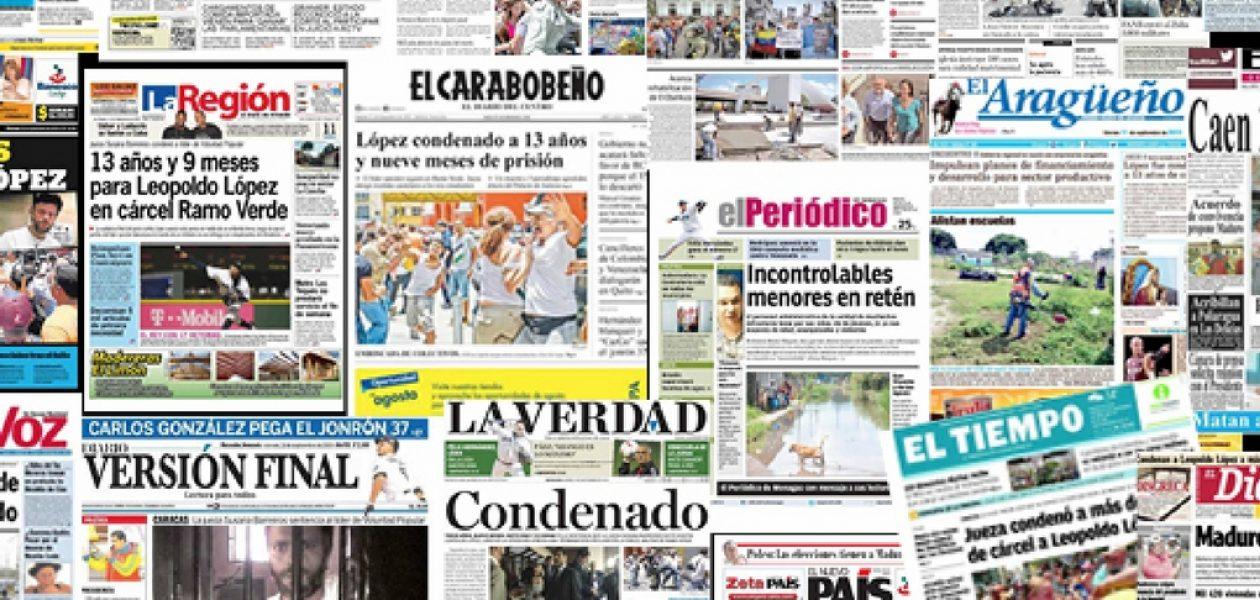 Conozca los periódicos que no están circulando durante el asueto de carnaval