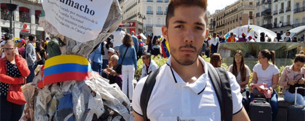 Periodistas venezolanos en España rechazan agresiones a la prensa