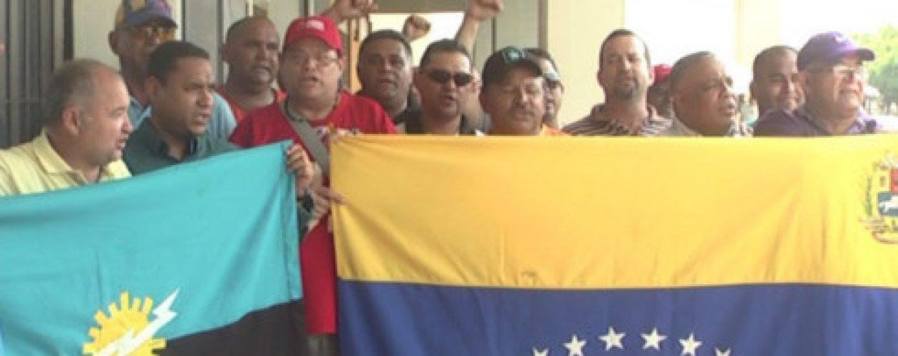 Trabajadores del petróleo protestaron para exigir mejoras laborales
