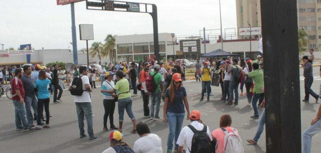 Plantón Maracaibo contra de la Constituyente colapsa la ciudad