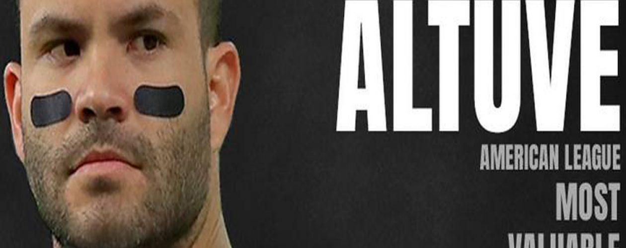 José Altuve es el Jugador Más Valioso de la Liga Americana