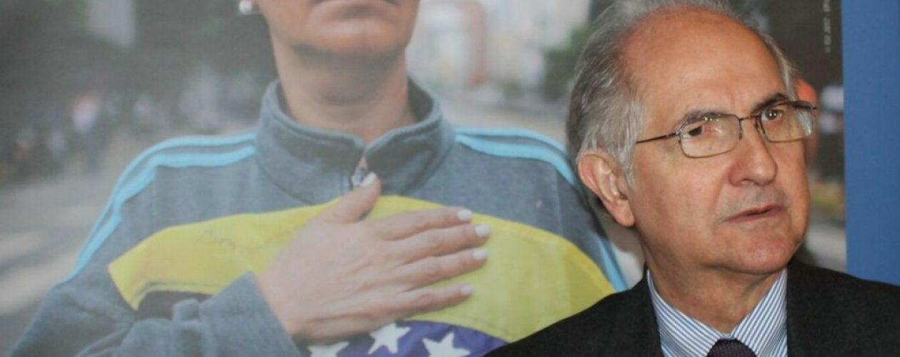 """Antonio Ledezma: """"Los 50.000 euros del Premio Sajarov serán destinados a los familiares de los presos políticos"""""""