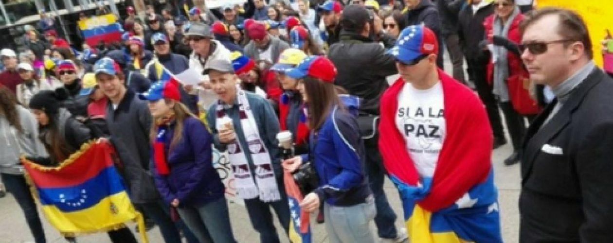 Así va la protesta mundial por Venezuela este 19A