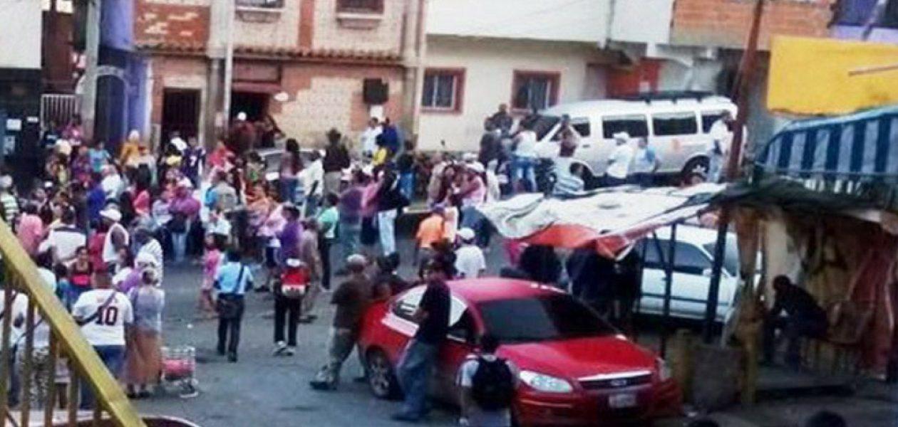 Reportan protesta en la Cota 905 en contra del Gobierno de Maduro