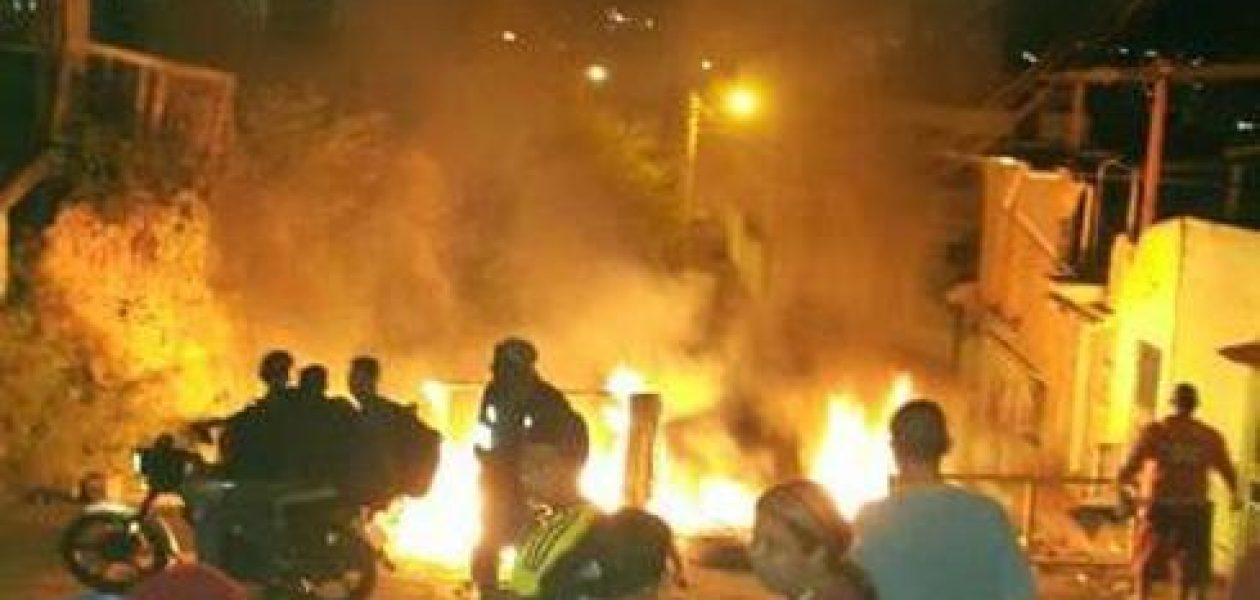 Protestas en Los Teques y Carora: dos zonas de guerra