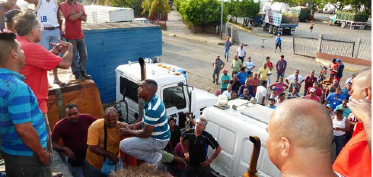 Las protestas en Venezuela están a la orden del día