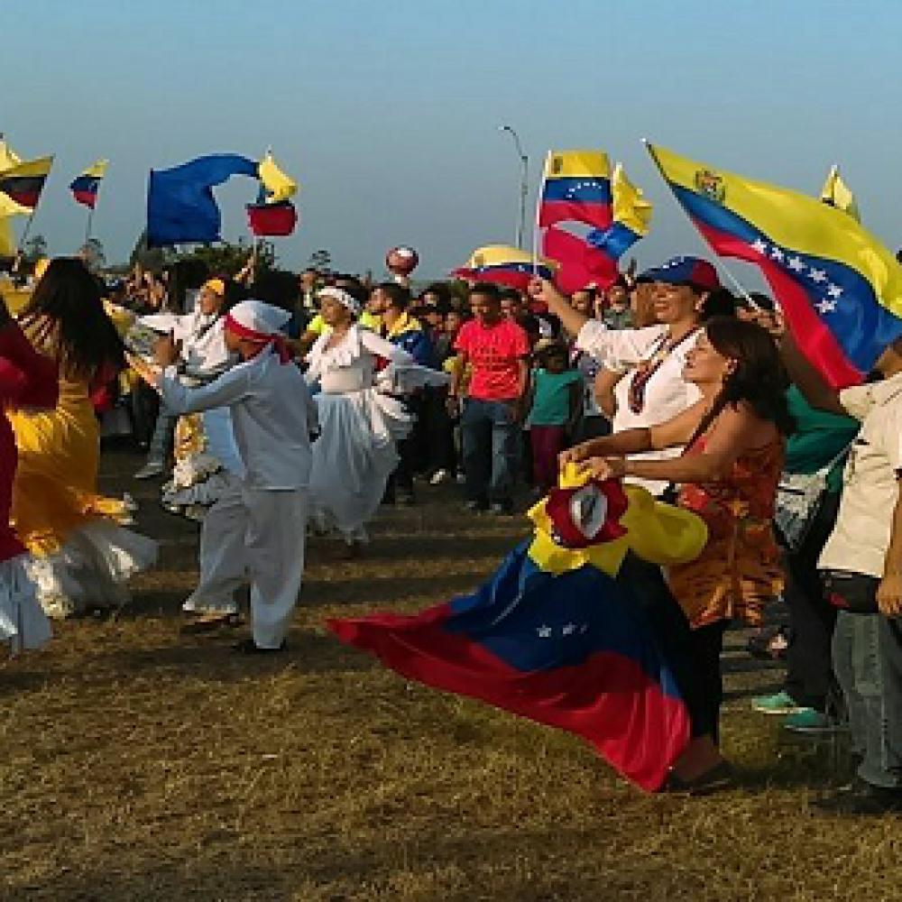 Puerto Ordaz se une en canto por Venezuela