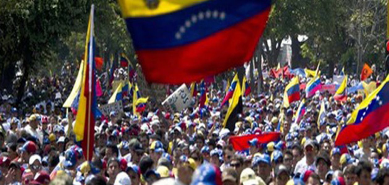 Puntos de concentración de la marcha hacia la Asamblea Nacional